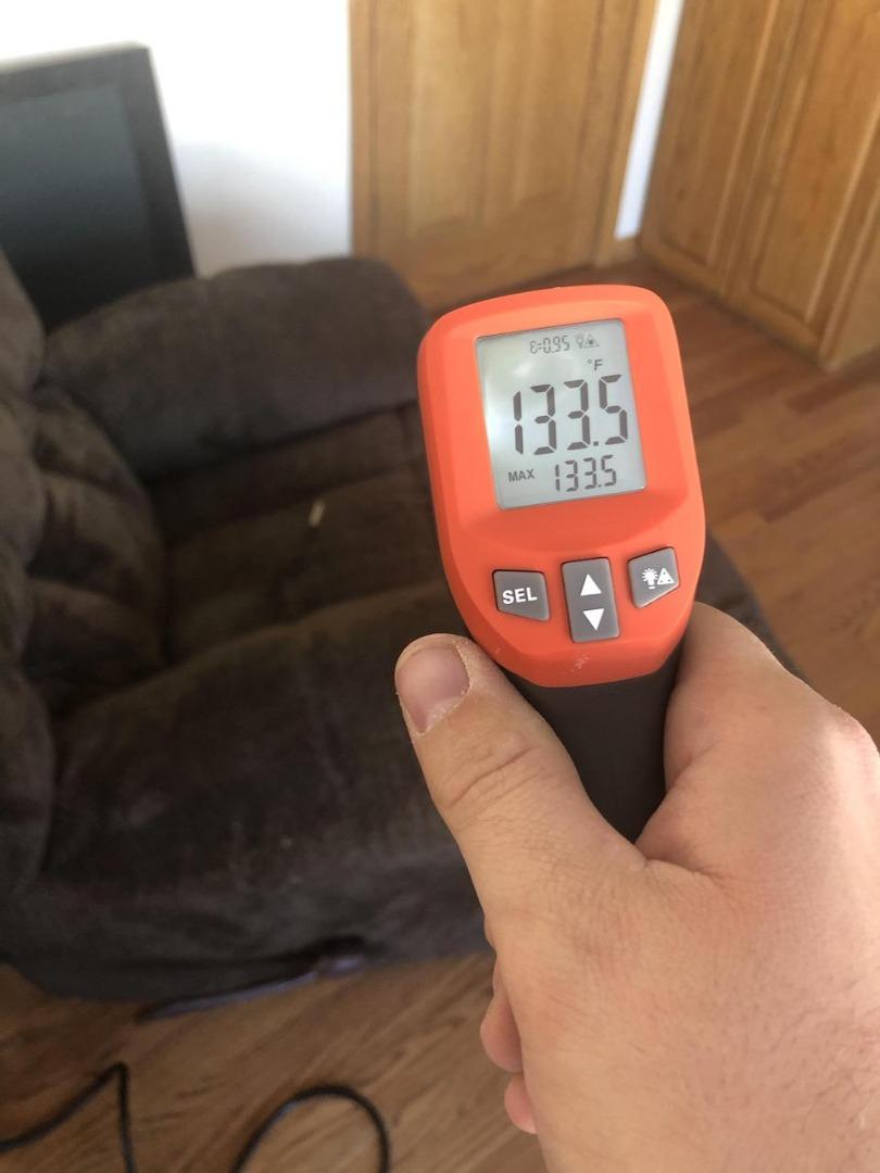 thermal scan of Nashville recliner